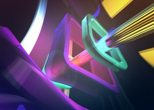 abstract Design by Lee Robinson, motion graphics designer London using adobe after effects shape layers