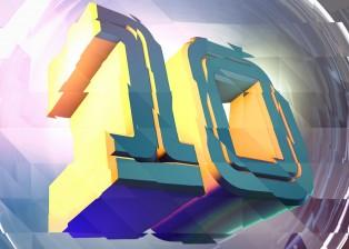 3D text design, cinema4d image