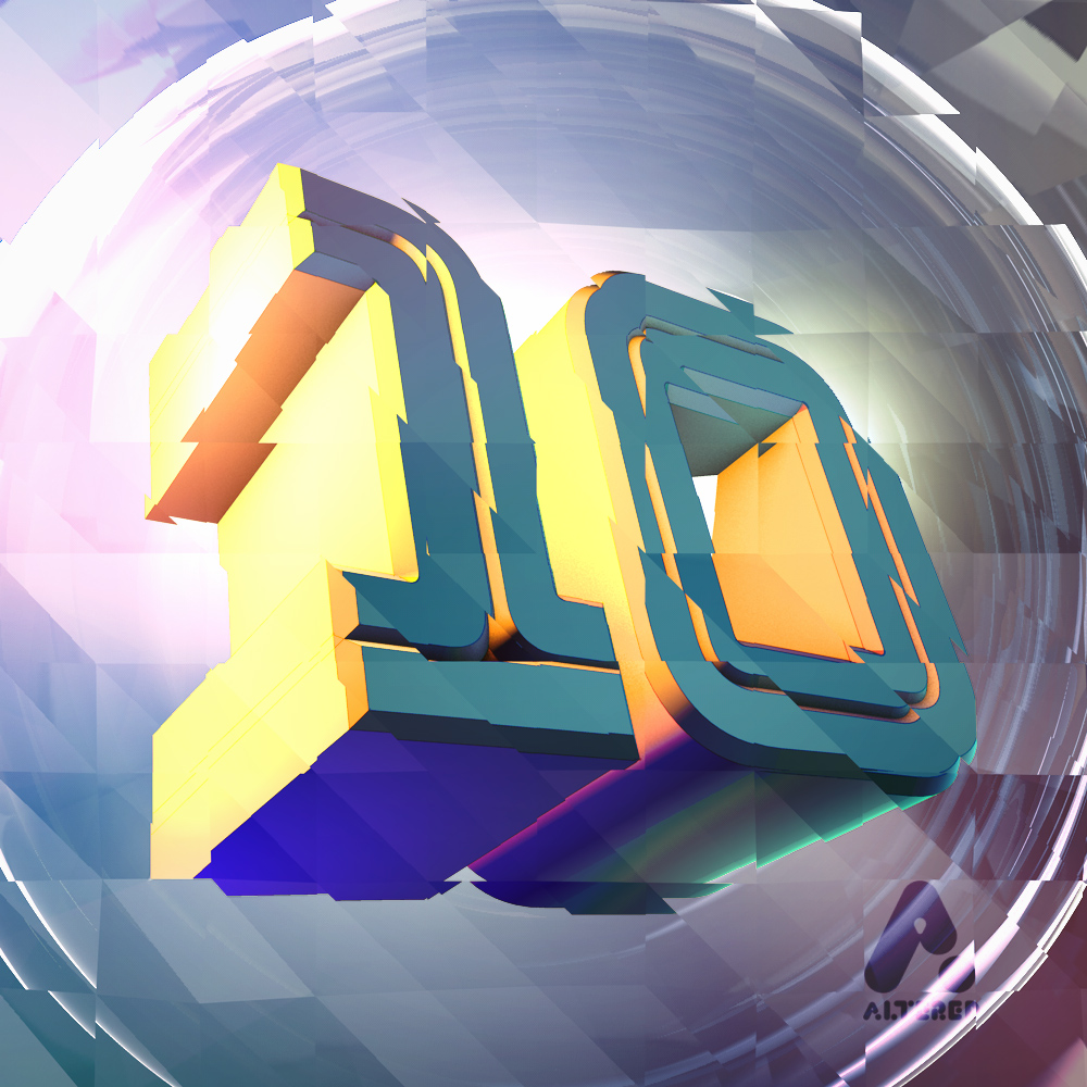 3D text design, cinema4d image