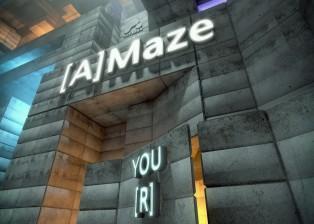Design, 3d, Cinema4d, maze, concrete city, art direction by lee robinson